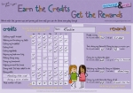 Credit Chart for Girls
