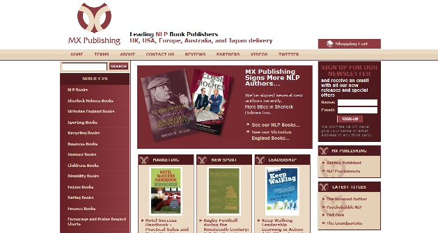 MX Book Publishing Website
