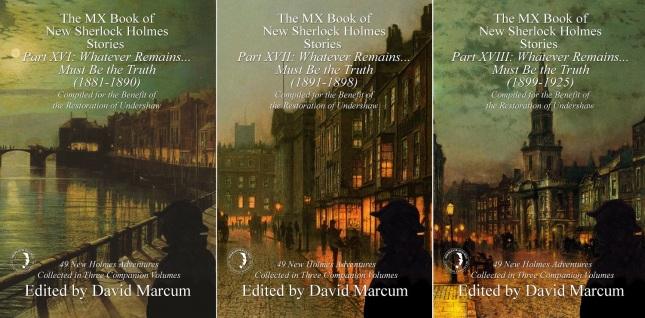 XVI, XVII, and XVIII Covers